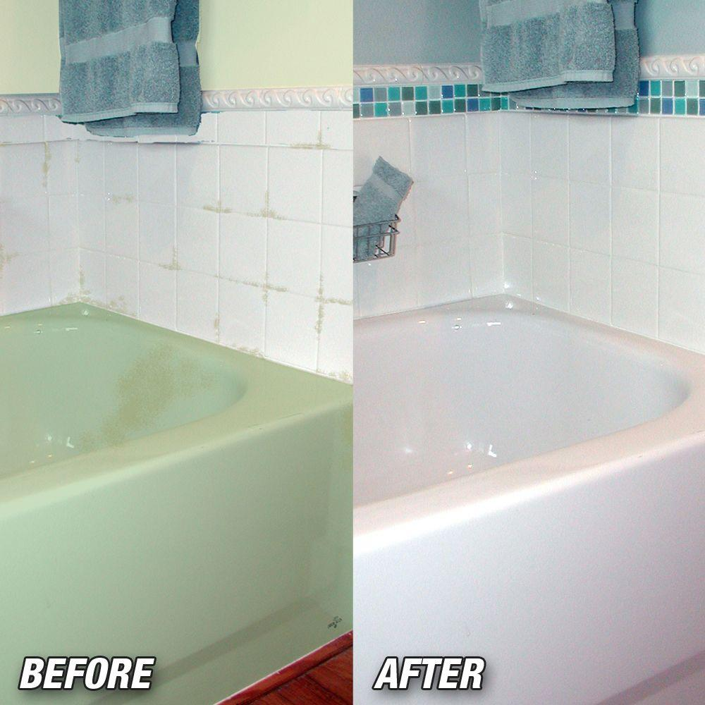 old tub an hqdefault refinishing how resurfacing shower diving and watch thrift diy to paint